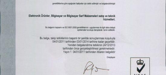 ISO 9001:2008 Kalite Yönetimi
